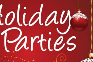 Tis the Season ~ Holiday Parties Up!